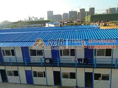 柳州职业技术学院官塘校区工地板房