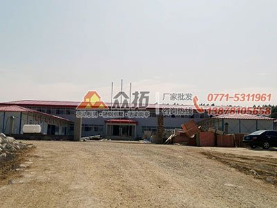 南宁至崇左高铁项目工地活动板房