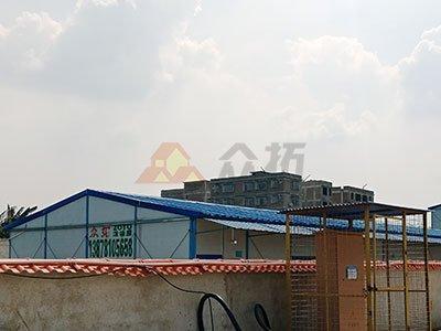 玉林东风尚项目工地活动板房