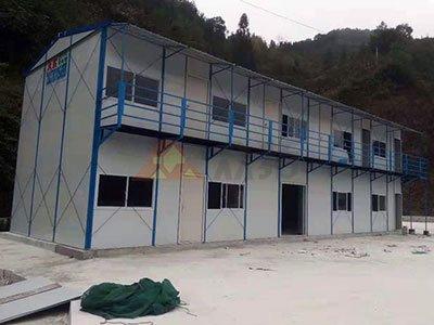 河池巴马水厂项目工地活动板房