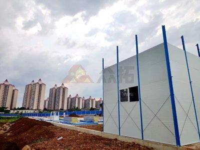 海南澄迈房地产项目活动板房