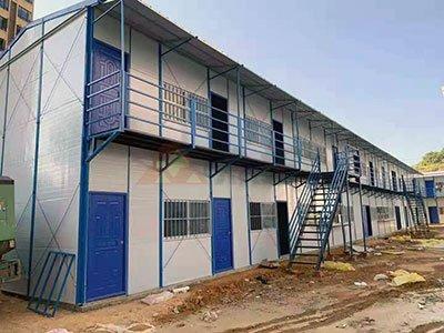梧州藤县碧水湾项目工地活动板房