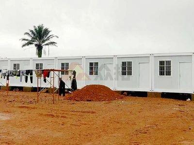 非洲塞拉利昂项目工地集装箱房