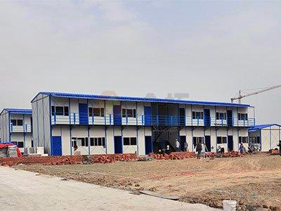 南宁中关村科技园项目工地活动板房