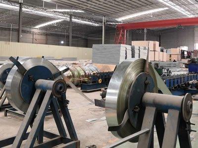 C型钢钢带卷放料架