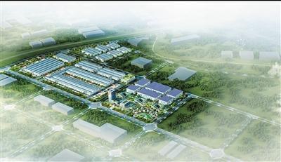 产业园全景效果图