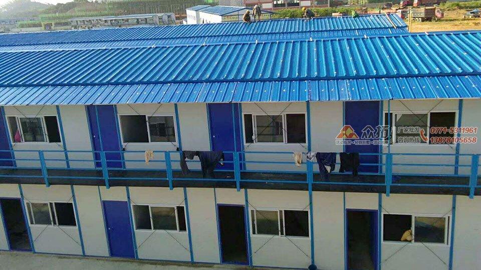 柳州职业技术学院官塘校区项目工地板房