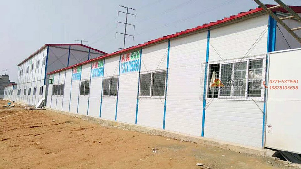梧州中亿丰电子商务项目基地工地板房