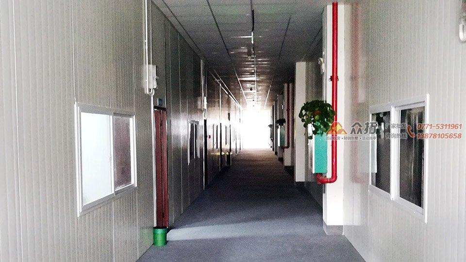 南宁高新区中通农业产业园板房隔断