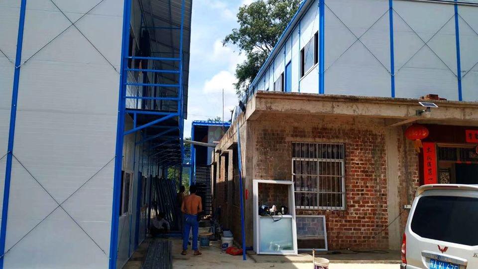 大塘浦北高速钦州项目工地板房