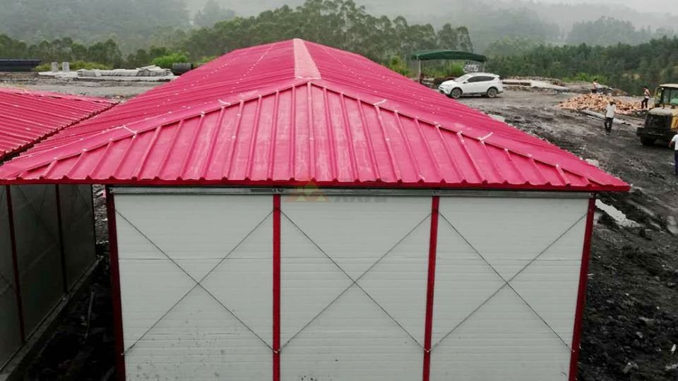 河池环江贵南高铁项目K式四坡板房