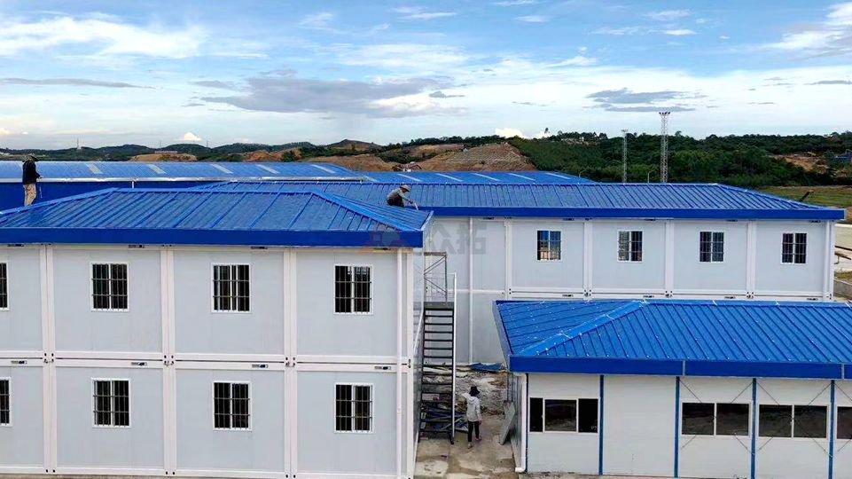 南宁铁路局南宁南站项目工地集装箱房