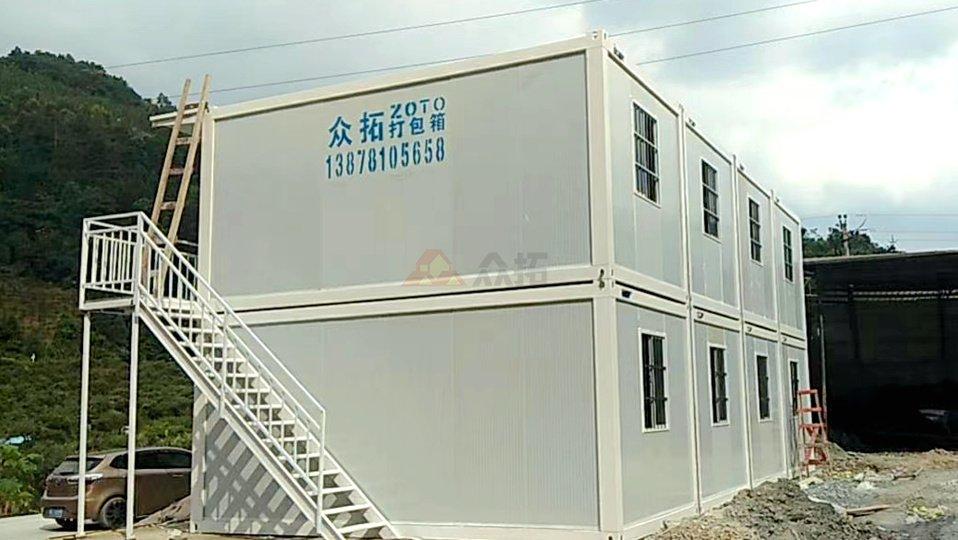 桂林龙胜集装箱办公室活动房